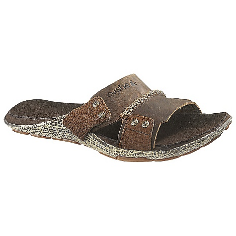Entertainment Free Shipping. Cushe Men's Manuka Slide Sandal DECENT FEATURES of the Cushe Men's Manuka Slide Sandal Antimicrobial Footbed: Keeps your kicks smelling nice by lacing our footbeds with a fresh aroma Although if you have stinky feet, we don't claim to make them smell better, just your shoes Sculptured Footbed: This ergonomically shaped footbed provides better underfoot comfort and support, whatever your foot shape The SPECS Upper: Soft full grain leather Lining: Ventilated mesh Footbed/Midsole: Suede covered ultra soft phylon Molded EVA Outsole: Foot-shaped Molded rubber unique manuka honeycomb design with pressed-in canvas for extra durability and support - $64.95