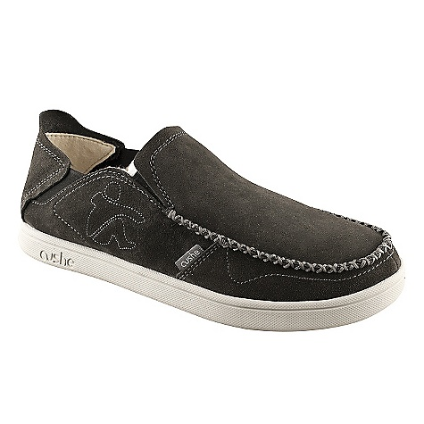 Skateboard Free Shipping. Cushe Men's Evo-Lite Loafer Thermo Shoe DECENT FEATURES of the Cushe Men's Evo-Lite Loafer Thermo Shoe Antimicrobial Footbed: Keeps your kicks smelling nice by lacing our footbeds with a fresh aroma Cushe Soft: Cushe's variation on the 'Californian Construction' (normally only found in sandals), that place the foot directly onto the sole unit, negating the need for removable insocks This construction has the added benefit of being wholly good for you with zero degree decrease in heel to toe height, resulting in a completely balanced sole The SPECS Upper Material: Premium canvas Lining: Spun wool and canvas Outsole: Ultra lightweight moulded EVA with unique plasma design - $74.95