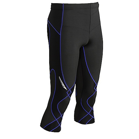 Free Shipping. CW-X Men's 3-4 Stabilyx Tights DECENT FEATURES of the CW-X Men's 3/4 Stabilyx Tights 80% Nylon / 20% LYCRA 2-way stretch Support Web: Provides Targeted Support to knee and core joints and muscles 80% COOLMAX / 20% LYCRA 4-way stretch body fabric: Helps to keep the body cool and dry, pulls moisture away from the body and carries it to the outside of the tight Healtha+ 4-way stretch mesh fabric for Stabilyx Ventilator Shorts UPF 50+ for UVA/UVB protection Flat seam construction: Eliminates abrasion, increases comfort, and enhances fit by reducing bulky seams Abdominal support panel: Provides extra support to the lower abdominal muscles Reflective in.flashin. and logos: Provide extra visibility for nighttime activities Key pocket and double-reinforced waistband with flat draw-chord This product can only be shipped within the United States. Please don't hate us. - $89.95