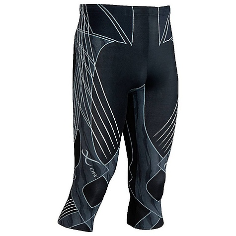 Fitness Free Shipping. CW-X Men's 3-4 Length Revolution Tights DECENT FEATURES of the CW-X Men's 3/4 Length Revoluition Tights EXO-Lite Seamless Support Web(TM) helps the musclesand ligaments band together to stabilize the knee joint Provides extra support to the lower abdominals, hipsand back for extra stability and power to the core areaof the body The taping support commonly applied to injuredmuscles is here harnessed to uninjured muscles, helpingmake sure they stay that way EXO-Lite Seamless Support Web(TM) offers gentle andcontinuous support to both the medial and lateral headof the gastrocnemius in the calf UPF 50+ for UVA/UVB protection Lower torso/leg stability and balance during running Increased knee shock absorption during the foot strike/load-bearing phase of running A non slip double reinforced waistband and drawstring keep everythingin place Key Pocket The SPECS 50% COOLMAX(R) Nylon/50% Polyurethane 4-way stretch body fabric This product can only be shipped within the United States. Please don't hate us. - $179.95