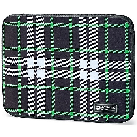 Surf On Sale. Dakine Laptop Sleeve DECENT FEATURES of the Dakine Laptop Sleeve Fits most 17in. laptops Fits most 14in. laptops Fully padded and fleece lined Zippered closure The SPECS 600D Polyester 420D Nylon Dobby The SPECS for Small Dimension: 14 x 10 x 1.5in. / 36 x 25 x 4 cm The SPECS for Large Dimension: 16 x 12 x 1.5in. / 41 x 31 x 4 cm - $14.99