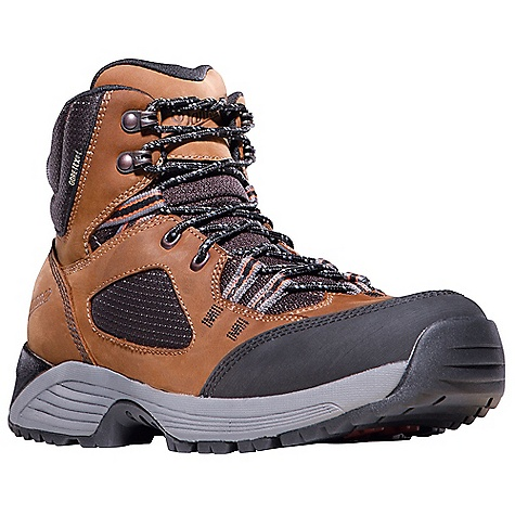 Camp and Hike Free Shipping. Danner Men's Cloud Cap Boot DECENT FEATURES of the Danner Men's Cloud Cap Boot Durable nubuc leather upper with rugged and lightweight nylon 100% waterproof and breathable Gore-Tex lining Removable EVA footbed EVA dual density midsole provides added cushioning Co-molded ESS plate for underfoot protection and stability Lightweight and athletic performance of Danner's Synergy System platform Danner Trailguard outsole for traction over rugged terrain The SPECS Weight: 42 oz Height: 6in. Last: DT4 Lining: Gore-Tex Shank: Nylon - $149.95