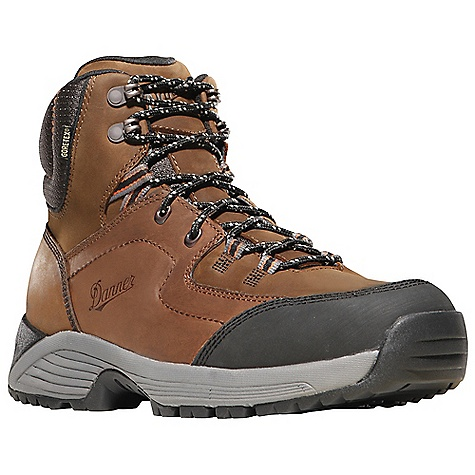 Camp and Hike Free Shipping. Danner Men's Cloud Cap Leather Boot DECENT FEATURES of the Danner Men's Cloud Cap Leather Boot Durable, full-grain and nubuc leather upper 100% waterproof and breathable Gore-Tex lining Removable EVA footbed EVA dual density midsole provides added cushioning Co-molded ESS plate for underfoot protection and stability Lightweight and athletic performance of Danner's Synergy System platform Danner Trailguard outsole for traction over rugged terrain The SPECS Weight: 42 oz Height: 6in. Last: DT4 Lining: Gore-Tex Shank: Nylon - $164.95