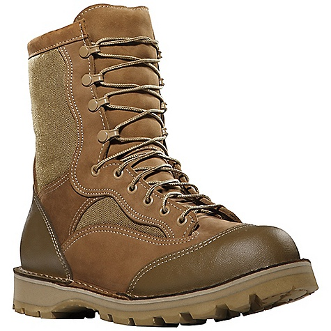 Camp and Hike Free Shipping. Danner Men's Danner Rat 8IN Boot DECENT FEATURES of the Danner Men's Danner Rat 8IN Boot Durable, waterproof nubuc leather upper with rugged and lightweight 1000 Denier nylon Abrasion resistant polyurethane coated toe and heel cap Double stitched for uncompromising fit and superior protection Speed lace fastening system and lace-to-toe design for secure fit Breathable, moisture-wicking mesh lining PU footbed Strength and stability of Danner's handcrafted stitchdown construction Vibram 360 outsole with Vibram's Dri-Ice compound for superior traction in rugged cold weather environments Recraftable Berry compliant The SPECS Height: 8in. Weight: 70 oz Lining: Mesh Last: 610/630 (W widths) Shank: Fiberglass - $339.95