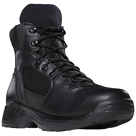 Camp and Hike Free Shipping. Danner Men's Kinetic 6IN Boot DECENT FEATURES of the Danner Men's Kinetic 6IN Boot Durable, waterproof, polishable full-grain leather upper with rip stop ballistic nylon Speed lace fastening system for secure fit Breathable, moisture-wicking mesh lining Cushioning Ultralon polyurethane footbed PU midsole for additional cushioning and support Multidirectional low lug Danner Kinetic outsole for superior surface contact The SPECS Height: 6in. Weight: 50 oz Lining: Mesh Last: 1368 Shank: Nylon - $139.95
