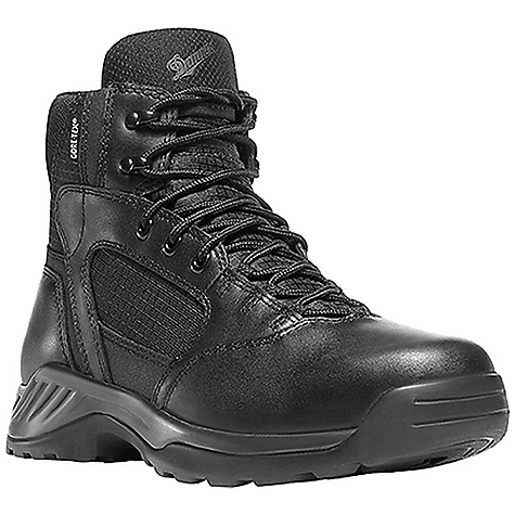 Camp and Hike Free Shipping. Kinetic Side-Zip 6IN GTX Boot DECENT FEATURES of the Danner Kinetic Side-Zip 6IN GTX Boot Durable, polishable full-grain leather upper with rip stop ballistic nylon Semi-locking side-zip 100% waterproof and breathable Gore-Tex lining Cushioning Ultralon polyurethane footbed Polyurethane midsole provides superior cushioning and added durability Reinforced heel and metatarsal protection Multidirectional low lug Danner Kinetic outsole for superior surface contact The SPECS Height: 6in. Weight: 48 oz Lining: Gore-Tex Last: 1368 Shank: Nylon - $169.95