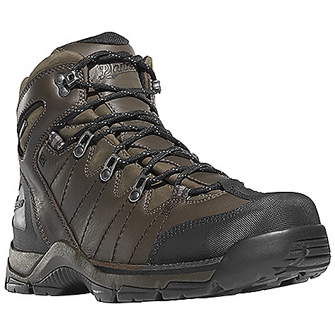 Camp and Hike Free Shipping. Danner Men's Mt Defiance Boot DECENT FEATURES of the Danner Men's Mt Defiance Boot Durable, waterproof nubuc leather upper Available full-grain all leather upper Abrasion resistant toe and heel cap Reinforced toe box Molded rubber heel counter for heel lock 100% waterproof and breathable Gore-Tex lining Cushioning polyurethane footbed PU midsole for durable shock absorption Lightweight and stable performance of Danner's Terra Force X2 platform Danner Defiance outsole for traction over rugged terrain The SPECS Weight: 50 oz Height: 5.5in. Last: 851 Lining: Gore-Tex Shank: Integrated Polypropolene - $179.95