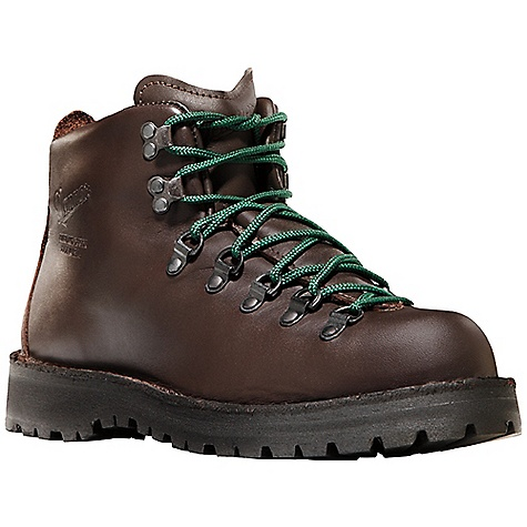 Camp and Hike Free Shipping. Danner Mountain Light II Boot DECENT FEATURES of the Danner Mountain Light II Boot Durable, one piece full-grain leather upper 100% waterproof and breathable Gore-Tex lining Danner Airthotic heel cradle and arch support Strength and stability of Danner's hand-crafted stitchdown construction Vibram Kletterlift outsole for superior traction, stability and shock absorption Recraftable The SPECS Weight: Men's: 62 oz, Women's: 47 oz Height: 5in. Last: 650 Lining: Gore-Tex Shank: Fiberglass - $309.95