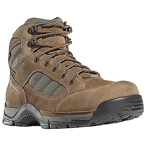 Camp and Hike Free Shipping. Danner Men's Rebel Rock Boot DECENT FEATURES of the Danner Men's Rebel Rock Boot Durable, waterproof nubuc and suede leather upper with rugged and lightweight nylon upper Reinforced toe box 100% waterproof and breathable Gore-Tex lining Lightweight, moisture wicking, antimicrobial open cell PU footbed PU midsole for durable shock absorption Lightweight and stable performance of Danner's Terra Force X2 platform Danner Defiance outsole for traction over rugged terrain The SPECS Weight: 46 oz Height: 5.5in. Last: 851 Lining: Gore-Tex Shank: Integrated Polypropolene - $159.95