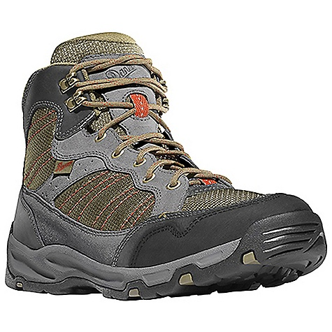 Camp and Hike Free Shipping. Danner Men's Sobo Mid Boot DECENT FEATURES of the Danner Men's Sobo Mid Boot Durable suede and nubuc leather upper with rugged and lightweight nylon Antimicrobial mesh lining in the collar and tongue Lightweight, moisture wicking, antimicrobial open cell PU footbed Compression molded EVA midsole provides added cushioning Co-molded TPU plate for underfoot protection and stability Lightweight and athletic performance of Danner's Trailguard platform Danner Appalachian outsole for traction over rugged terrain The SPECS Weight: 42 oz Height: 6in. Last: DT4 Lining: Mesh Shank: Nylon - $129.95