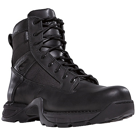 Camp and Hike Free Shipping. Danner Men's Striker II 6IN GTX Boot DECENT FEATURES of the Danner Men's Striker II 6IN GTX Boot Durable, waterproof, polishable fullgrain leather upper with rugged and lightweight 1000 Denier nylon All-leather styles available Side-Zip 100% waterproof and breathable Gore-Tex lining Cushioning Fatigue Fighter footbed Lightweight and stable performance of Danner's TFX Lite platform Danner TFX Lite oil- and slip-resistant outsole for superior grip and stability Pro-Tec NMT meets or exceeds ASTM F2413-05/75 C/75 EH standards The SPECS Height: 6in. Weight: 52 oz Lining: Gore-Tex Last: 851 Shank: Nylon - $199.95