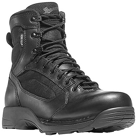 Camp and Hike Free Shipping. Danner Striker Torrent Side-Zip 6IN Boot DECENT FEATURES of the Danner Striker Torrent Side-Zip 6IN Boot Durable, polishable full-grain leather upper with rugged and lightweight 1000 Denier nylon Speed lace fastening system for secure fit Lace garage Semi-locking side-zip 100% waterproof and breathable Gore-Tex lining Removable cushioning antimicrobial polyurethane footbed with additional layer of open cell construction for air circulation Polyurethane midsole provides superior cushioning and added durability New Danner TFX-8 platform is the lightest weight and most versatile TFX construction featuring a cross stitch design which provides added durability and stability in the medial toe and lateral heal pivot zones Vibram Striker Torrent outsole featuring a 360deg pentaganol low lug pattern for grip in all directions, a flex notch design in key pivot areas and a more rugged outer lug pattern which sheds water and provides maximum surface contact The SPECS Height: 6in. Weight: 52 oz Lining: Gore-Tex Last: 851 Shank: Nylon - $189.95
