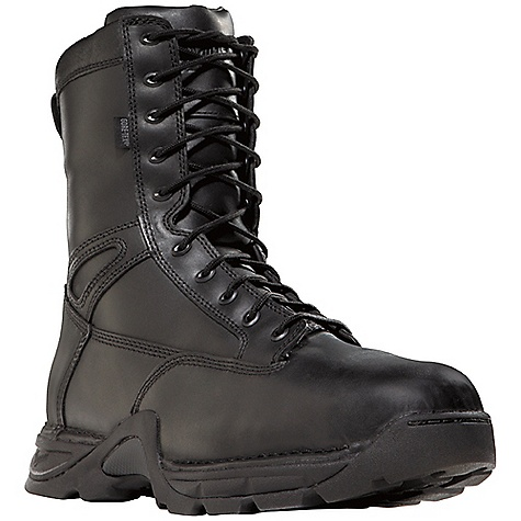 Camp and Hike Free Shipping. Danner Men's Striker II 8IN GTX NMT Boot DECENT FEATURES of the Danner Men's Striker II 8IN GTX NMT Boot Durable, waterproof, polishable fullgrain leather upper with rugged and lightweight 1000 Denier nylon All-leather styles available Side-Zip 100% waterproof and breathable Gore-Tex lining Cushioning Fatigue Fighter footbed Lightweight and stable performance of Danner's TFX Lite platform Danner TFX Lite oil- and slip-resistant outsole for superior grip and stability Pro-Tec NMT meets or exceeds ASTM F2413-05/75 C/75 EH standards The SPECS Height: 8in. Weight: 58 oz Lining: Gore-Tex Last: 851 Shank: Nylon - $229.95