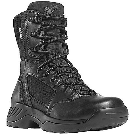 Camp and Hike Free Shipping. Danner Women's Kinetic 6IN GTX Boot FEATURES of the Danner Women's Kinetic 6IN GTX Boot Durable, waterproof, polishable full-grain leather upper with rip stop ballistic nylon Speed lace fastening system for secure fit 100% waterproof and breathable Gore-Tex lining Cushioning polyurethane footbed Polyurethane midsole for additional cushioning and support Slip-resistant, multi-directional low lug Danner Kinetic outsole for superior surface contact and traction - $159.95