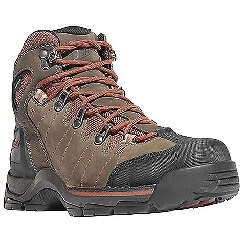Camp and Hike Free Shipping. Danner Women's Mt Defiance Boot DECENT FEATURES of the Danner Women's Mt Defiance Boot Durable, waterproof nubuc leather upper Abrasion resistant toe and heel cap Reinforced toe box Molded rubber heel counter for heel lock 100% waterproof and breathable Gore-Tex lining Cushioning polyurethane footbed PU midsole for durable shock absorption Lightweight and stable performance of Danner's Terra Force X2 platform Danner Defiance outsole for traction over rugged terrain The SPECS Weight: 50 oz Height: 5.5in. Last: 851 Lining: Gore-Tex Shank: Integrated Polypropolene - $179.95