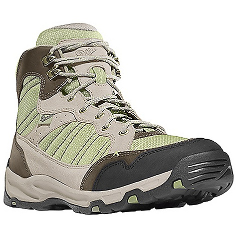 Camp and Hike Free Shipping. Danner Women's Sobo Mid Boot DECENT FEATURES of the Danner Women's Sobo Mid Boot Durable suede and nubuc leather upper with rugged and lightweight nylon Antimicrobial mesh lining in the collar and tongue Lightweight, moisture wicking, antimicrobial open cell PU footbed Compression molded EVA midsole provides added cushioning Co-molded TPU plate for underfoot protection and stability Lightweight and athletic performance of Danner's Trailguard platform Danner Appalachian outsole for traction over rugged terrain The SPECS Weight: 34 oz Height: 6in. Last: DT5 Lining: Mesh Shank: Nylon - $109.95
