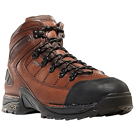Free Shipping. Danner Men's 453 Steel Toe Boot DECENT FEATURES of the Danner Men's 453 Steel Toe Boot Durable, waterproof full-grain leather upper Abrasion resistant toe cap Speed lace fastening system for secure fit 100% waterproof and breathable Gore-Tex lining Cushioning Fatigue Fighter footbed Lightweight and stable performance of Danner's Terra Force X platform Danner Approach TFX outsole for instant acceleration over rugged terrain Steel toe meets or exceeds ASTM F2413-05 M I/75 C/75 EH standards The SPECS Weight: 53 oz Height: 5.5in. Safety Toe: ST Last: 850 Lining: Gore-Tex Shank: Nylon - $189.95