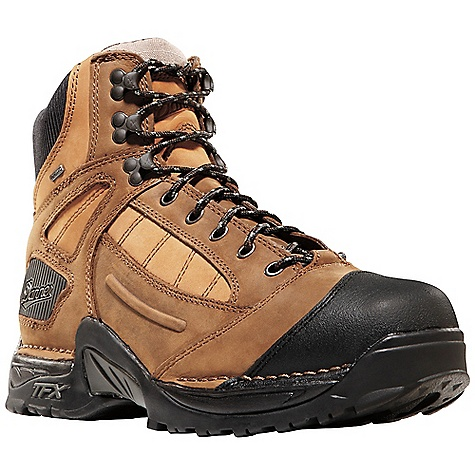 Free Shipping. Danner Men's Instigator Steel Toe Boot DECENT FEATURES of the Danner Men's Instigator Steel Toe Boot Durable, waterproof full-grain leather upper Abrasion resistant toe cap 100% waterproof and breathable Gore-Tex lining Molded EVA footbed Lightweight and stable performance of Danner's Terra Force X platform Danner Approach TFX outsole for instant acceleration over rugged terrain Steel toe meets or exceeds ASTM F2413-05 M I/75 C/75 EH standards The SPECS Weight: 57 oz Height: 6in. Safety Toe: ST Last: 850 Lining: Gore-Tex Shank: Nylon - $199.95