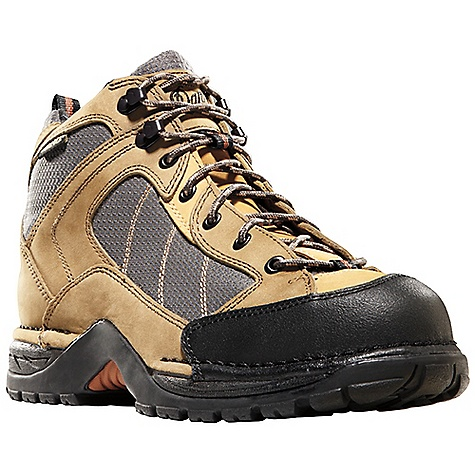 Free Shipping. Danner Men's Radical 452 Boot DECENT FEATURES of the Danner Men's Radical 452 Boot Durable full-grain nubuc leather with 1000 Denier nylon upper Abrasion resistant toe cap 100% waterproof and breathable Gore-Tex lining Removable EVA footbed Lightweight and stable performance of Danner's Terra Force platform Danner Boulder TF outsole with multidirectional lug pattern for grip over rugged terrain The SPECS Weight: 46 oz Height: 5.5in. Last: 850 Lining: Gore-Tex Shank: TPU - $174.95