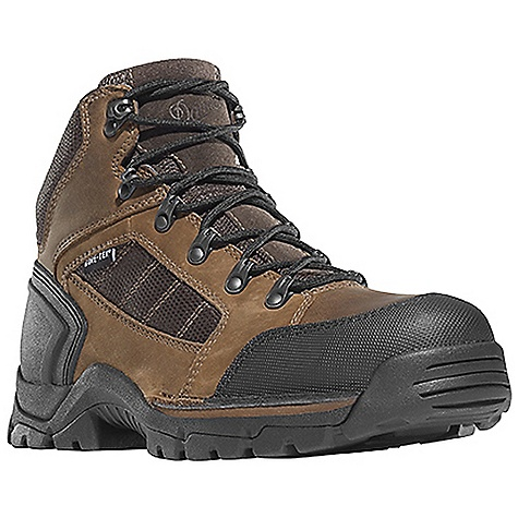Free Shipping. Danner Men's Rampant TFC Boot DECENT FEATURES of the Danner Men's Rampant TFC Boot Durable, waterproof full-grain leather and nubuc leather with lightweight, durable nylon upper Abrasion resistant toe and heel cap Molded rubber heel counter for heel lock Speed lace fastening system for secure fit 100% waterproof and breathable Gore-Tex lining Cushioning Fatigue Fighter footbed Lightweight and stable performance of Danner's patented Terra Force X2 platform PU midsole for durable shock absorption with an additional forefoot PU layer for added cushioning Oil and slip resistant Danner Rampant outsole with a low-profile 90 degree heel Electrical Hazard Protection ASTM F2892-11 EH The SPECS Weight: 51 oz Height: 4.5in. Last: 850 Lining: Gore-Tex Shank: Nylon - $179.95