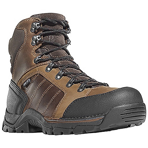 Free Shipping. Danner Men's Rampant TFC 6IN NMT Boot DECENT FEATURES of the Danner Men's Rampant TFC 6IN NMT Boot Durable, waterproof full-grain leather and nubuc leather upper Abrasion resistant toe and heel cap Molded rubber heel counter for heel lock Speed lace fastening system for secure fit 100% waterproof and breathable Gore-Tex lining Cushioning Fatigue Fighter footbed Lightweight and stable performance of Danner's patented Terra Force X2 platform PU midsole for durable shock absorption with an additional forefoot PU layer for added cushioning Oil and slip resistant Danner Rampant outsole with a low-profile 90 degree heel Non-metallic toe meets or exceeds ASTM F2413- 11 M I/75 C/75 EH standards The SPECS Weight: 53 oz Height: 6in. Last: 850 Lining: Gore-Tex Shank: Nylon Safety Toe: NMT - $199.95
