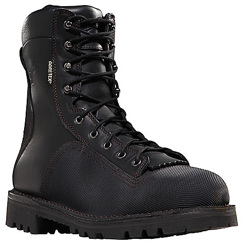 Free Shipping. Danner Men's Super Quarry Boot DECENT FEATURES of the Danner Men's Super Quarry Boot Durable, waterproof full-grain leather upper Vibram abrasion-resistant diamond plated heel and toe cap stitched with abrasion-resistant thread Triple stitched for uncompromising fit and superior protection 100% waterproof and breathable Gore-Tex lining Cushioning Fatigue Fighter footbed Flex II midsole that meets or exceeds ASTM standards for puncture resistance (PR) Rigidity from a steel shank Strength and stability of Danner's hand-crafted stitchdown construction Aggressive Vibram Olympia outsole for superior traction over various terrain Electrical hazard protection ASTM F2892-11 EH Recraftable The SPECS Weight: 83 oz Height: 8in. Last: 850 Lining: Gore-Tex Shank: Steel - $269.95