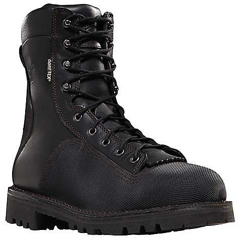 Free Shipping. Danner Men's Super Quarry NMT Boot DECENT FEATURES of the Danner Men's Super Quarry NMT Boot Durable, waterproof full-grain leather upper Vibram abrasion-resistant diamond plated heel and toe cap stitched with abrasion-resistant thread Triple stitched for uncompromising fit and superior protection 100% waterproof and breathable Gore-Tex lining Cushioning Fatigue Fighter footbed Flex II midsole that meets or exceeds ASTM standards for puncture resistance (PR) Rigidity from a steel shank Strength and stability of Danner's hand-crafted stitchdown construction Aggressive Vibram Olympia outsole for superior traction over various terrain Non-metallic toe and midsole meets or exceeds ASTM F2413-11 M I/75 C/75 EH PR standards Recraftable The SPECS Weight: 92 oz Height: 8in. Last: 850 Lining: Gore-Tex Shank: Steel Safety Toe: NMT - $279.95