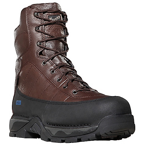 Free Shipping. Danner Men's Vandal Boot DECENT FEATURES of the Danner Men's Vandal Boot Durable, waterproof full-grain leather upper Available with Thinsulate Ultra Insulation 360deg abrasion resistant rand Deeply padded collar and heel 100% waterproof and breathable Gore-Tex lining Cushioning Fatigue Fighter footbed Dual density midsole offers a top layer for comfort and a bottom layer for support Lightweight and stable performance of Danner's Terra Force platform Oil and slip resistant Danner Vibram outsole with a 90deg heel Vibram's Dri-Ice compound for superior traction in cold weather Electrical hazard protection ASTM F2892-11 EH The SPECS Weight: 71 oz Height: 8in. Insulation: 600 g Last: 850 Lining: Gore-Tex Shank: Nylon - $249.95