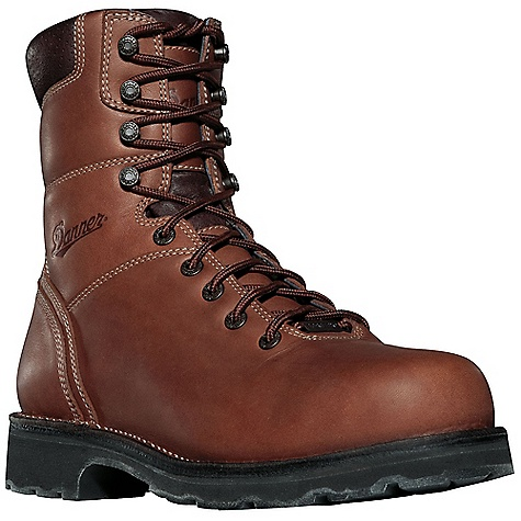 Free Shipping. Danner Men's Workman 8IN AT Boot DECENT FEATURES of the Danner Men's Workman 8IN AT Boot Durable, waterproof full-grain leather upper 100% waterproof and breathable Gore-Tex lining Cushioning Fatigue Fighter footbed Strength and stability of Danner's hand-crafted stitchdown construction Rugged durability and all day comfort from the Vibram Duralogical outsole Alloy toe and non-metallic toe meets or exceeds ASTM F2413-11 M I/75 C/75 EH standards Recraftable The SPECS Weight: 67 oz Height: 8in. Insulation: 400 g Last: 850 Lining: Gore-Tex Shank: Steel Safety Toe: AT - $219.95