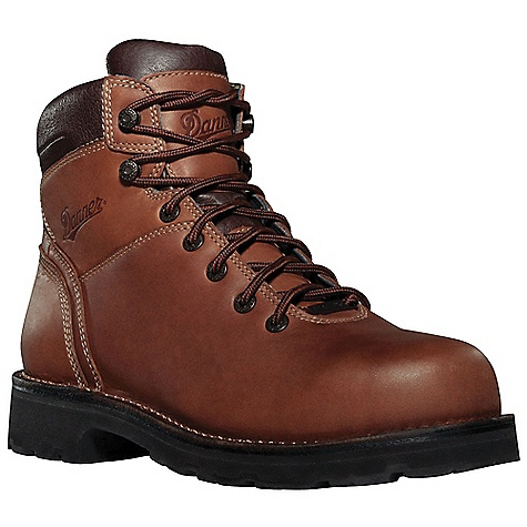 Free Shipping. Danner Men's Workman AT Boot DECENT FEATURES of the Danner Men's Workman AT Boot Durable, waterproof full-grain leather upper 100% waterproof and breathable Gore-Tex lining Cushioning Fatigue Fighter footbed Strength and stability of Danner's hand-crafted stitchdown construction Rugged durability and all day comfort from the Vibram Duralogical outsole Alloy toe and non-metallic toe meets or exceeds ASTM F2413-11 M I/75 C/75 EH standards Recraftable The SPECS Weight: 64 oz Height: 6in. Last: 850 Lining: Gore-Tex Shank: Steel - $209.95