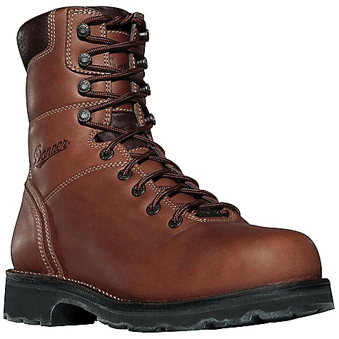 Free Shipping. Danner Men's Workman Insulated Boot DECENT FEATURES of the Danner Men's Workman Insulated Boot Durable, waterproof full-grain leather upper 100% waterproof and breathable Gore-Tex lining Available with Thinsulate Ultra Insulation Cushioning Fatigue Fighter footbed Strength and stability of Danner's hand-crafted stitchdown construction Vibram Dri-Ice compound and Maltese Cross Blocker outsole pattern for superior traction in cold weather Electrical hazard protection ASTM F2892-11 EH Recraftable The SPECS Weight: 73 oz Height: 8in. Insulation: 400 g Last: 850 Lining: Gore-Tex Shank: Steel - $229.95