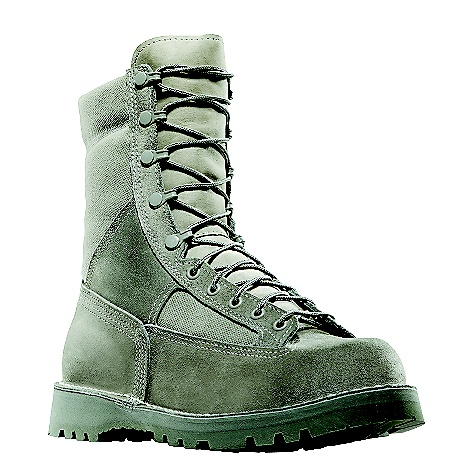 Free Shipping. Danner Men's Danner USAF 8IN Insulated GTX Boot DECENT FEATURES of the Danner Men's Danner USAF 8IN Insulated GTX Boot Durable, waterproof rough-out leather upper with rugged and lightweight 1000 Denier nylon Available with Thinsulate Ultra Insulation Double stitched for uncompromising fit and superior protection Speed lace fastening system and lace-to-toe design for secure fit 100% waterproof and breathable Gore-Tex lining Strength and stability of Danner's hand-crafted stitchdown construction Vibram 1331 outsole with a wide outer lug for traction on slippery surfaces and Dri-Ice rubber compound for cold environments Recraftable Approved for USAF optional wear USAF Safe-To-Fly certified The SPECS Height: 8in. Weight: 68 oz Lining: Gore-Tex Insulation: 600G Last: 610 (B, D, EEEE / 620 (EE) / 620 (M, W) Shank: Fiberglass - $329.95