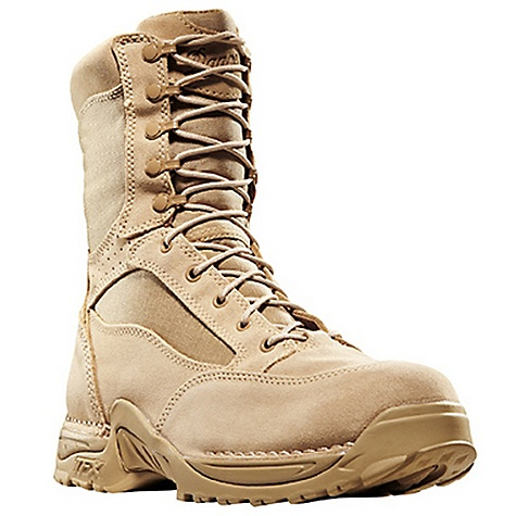 Free Shipping. Danner Women's Desert TFX Rough-Out Hot 8IN Boot DECENT FEATURES of the Danner Women's Desert TFX Rough-Out Hot 8IN Boot Durable, rough-out leather upper with rugged and lightweight 1000 Denier nylon Speed lace fastening system for secure fit Breathable, Dri-Lex lining with leather perforation for increased airflow Cushioning Fatigue Fighter footbed Lightweight and stable performance of Danner's TERRA FORCE X platform Danner Approach TFX outsole for instant acceleration over rugged terrain Meets AR 670-1 requirements for optional wear The SPECS Height: 8in. Weight: 50 oz Lining: Dri-Lex Last: 851 Shank: Nylon - $179.95