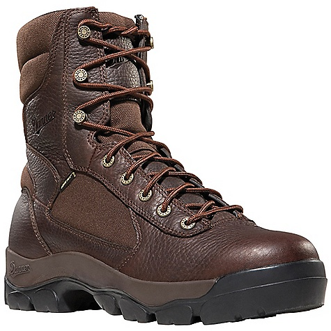 Hunting Free Shipping. Danner Men's High Country Boot DECENT FEATURES of the Danner Men's High Country Boot Durable full-grain leather upper with rugged and lightweight 1000 Denier nylon Rugged hardware for secure fit and long lasting performance 100% waterproof and breathable Gore-Tex lining Cushioning Fatigue Fighter footbed Full length insole board for additional support Vibram Dri Foot outsole for unmatched traction and underfoot support The SPECS Weight: 62 oz Height: 7in. Last: 610 Lining: Gore-Tex Shank: Insole Board - $169.95