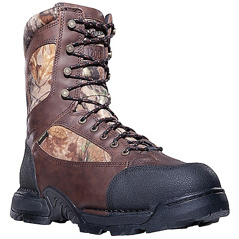 Hunting Free Shipping. Danner Men's Pronghorn 1200G Insulated Boot DECENT FEATURES of the Danner Men's Pronghorn 1200G Insulated Boot 100% waterproof and breathable GORE-TEX(R) liner Engineered to keep your feet dry and comfortable - even in extreme conditions 1200 grams of Thinsulate Insulation offer lightweight warmth for those needing protection in extreme cold climates Durable full-grain leather plus breathable 1000 Denier nylon upper for excellent durability and abrasion resistance TERRA FORCE X platform provides lightweight, durable traction, heel-to-toe energy transfer Side support to enhance maneuverability Protection from arch overwork and fatigue Fatigue Fighter footbeds are deeply padded for all day comfort and high-mileage arch support Scuff-proof Tech-Tuff toe and heel Realtree AP is neutral, open, high contrast, and realistic The High Definition printing process stands up to the real-life effects of nature Mountain Goat TF outsole was designed with the mountain goat hoof in mind The tough outer lugs cut into the terrain and the soft inner padding offers superior traction mimicking the goat's ability to side hill in any condition Nylon shank 8in. height 72 oz - $219.95