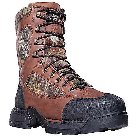 Hunting Free Shipping. Danner Men's Pronghorn 800G Insulated Boot DECENT FEATURES of the Danner Men's Pronghorn 800G Insulated Boot Durable, waterproof full-grain leather upper with rugged and lightweight 1000 Denier nylon Available with Thinsulate Ultra Insulation Abrasion resistant toe and heel cap Rugged hardware for secure fit and long lasting performance 100% waterproof and breathable Gore-Tex lining Cushioning Fatigue Fighter footbed Lightweight and stable performance of Danner's Terra Force platform Danner Mountain Goat outsole for solid traction over rugged terrain The SPECS Weight: 68 oz Height: 8in. Insulation: 800 g Last: 851 Lining: Gore-Tex Shank: Nylon - $209.95