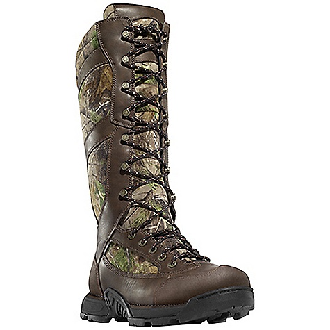 Hunting Free Shipping. Danner Men's Pronghorn Snake Boot DECENT FEATURES of the Danner Men's Pronghorn Snake Boot Durable, waterproof full-grain leather upper with rugged and lightweight 1000 Denier nylon 360deg snake-proof protection Rugged hardware for secure fit and long lasting performance 100% waterproof and breathable Gore-Tex lining Cushioning polyurethane footbed Lightweight and stable performance of Danner's Terra Force platform Danner Mountain Goat outsole for solid traction over rugged terrain The SPECS Weight: 76 oz Height: 18in. Last: 851 Lining: Gore-Tex Shank: Nylon - $249.95