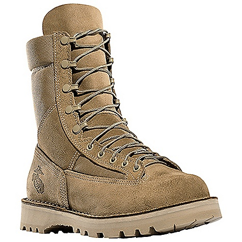 Free Shipping. Danner Men's Danner Marine 8IN ST Boot DECENT FEATURES of the Danner Men's Danner Marine 8IN ST Boot Durable, waterproof rough-out leather upper with rugged and lightweight 1000 Denier nylon Triple stitched for uncompromising fit and superior protection Speed lace fastening system and laceto- toe design for secure fit Breathable, moisture-wicking mesh lining Strength and stability of Danner's handcrafted stitchdown construction Vibram 1276 Sierra outsole for traction in diverse terrain Available with steel toe that meets or exceeds ASTM F2413-05/75 C/75 EH standards Recraftable USMC certified with Eagle, Globe and Anchor emblem Berry compliant The SPECS Height: 8in. Weight: 74 oz Lining: Mesh Safety Toe: ST Last: 610 (B, D, EEEE)/630 (EE)/ 620 (M, W)/516 (ST) Shank: Fiberglass - $299.95