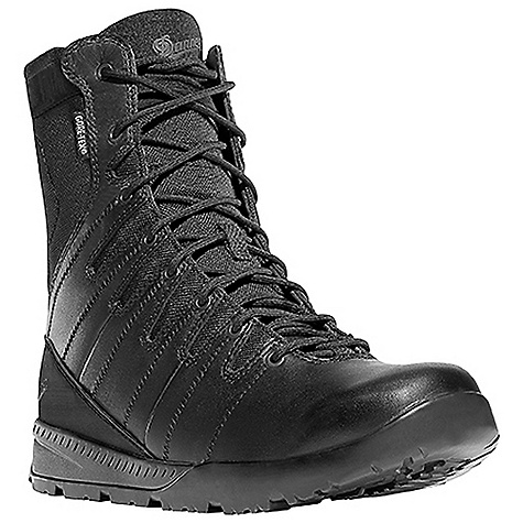 Free Shipping. Danner Men's Melee 8IN GTX Boot DECENT FEATURES of the Danner Men's Melee 8IN GTX Boot Durable, waterproof, full-grain all leather upper Lace garage Abrasion resistant toe and heel cap 100% waterproof and breathable Gore-Tex lining Cushioning polyurethane footbed EVA midsole for shock absorption with an ESS external coating for abrasion resistance Patent pending Danner VIA technology featuring a Vibram V-4 ultra-abrasion rubber compound in the medial side arch for fast roping control Danner/Vibram Melee outsole featuring a 360deg pentagonal low lug pattern for grip in all directions with a more rugged outer lug pattern which sheds water and provides maximum surface contact The SPECS Height: 8in. Weight: 46 oz Lining: Gore-Tex Last: DLE-01 Shank: Nylon - $189.95