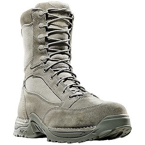 Free Shipping. Danner Men's USAF TFX 8IN Boot DECENT FEATURES of the Danner Men's USAF TFX 8IN Boot Durable, waterproof, rough-out leather upper with rugged and lightweight 1000 Denier nylon Breathable, moisture-wicking mesh lining Cushioning Fatigue Fighter footbed Lightweight and stable performance of Danner's TERRA FORCE X platform Danner Approach TFX outsole for instant acceleration over rugged terrain Approved for USAF optional wear The SPECS Height: 8in. Weight: 58 oz Lining: Mesh Last: 851 Shank: Nylon - $179.95