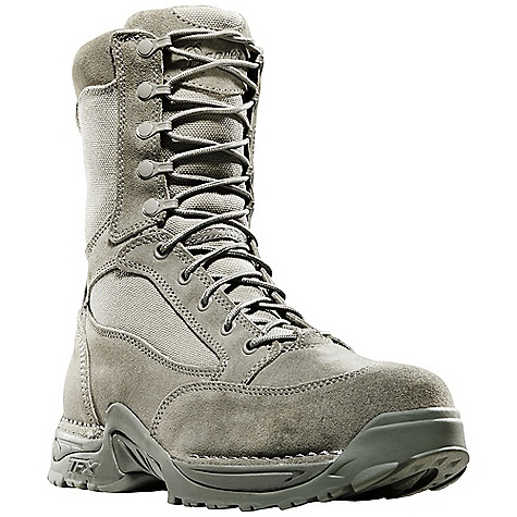Free Shipping. Danner Men's USAF TFX 8IN Insulated NMT GTX Boot DECENT FEATURES of the Danner Men's USAF TFX 8IN Insulated NMT GTX Boot Durable, waterproof, rough-out leather upper with rugged and lightweight 1000 Denier nylon Available with Thinsulate Ultra Insulation Speed lace fastening system for secure fit 100% waterproof and breathable Gore-Tex lining Cushioning Fatigue Fighter footbed Lightweight and stable performance of Danner's TERRA FORCE X platform Danner Approach TFX outsole for instant acceleration over rugged terrain Pro-Tec non-metallic toe version meets or exceeds ASTM F2413-05 M I/75 C/75 EH standards Approved for USAF optional wear The SPECS Height: 8in. Weight: 66 oz Lining: Gore-Tex Safety Toe: NMT Insulation: 400G Last: 851 Shank: Nylon - $189.95