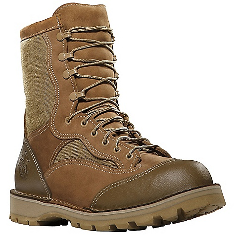 Free Shipping. Danner Men's USMC Rat 8IN ST Boot DECENT FEATURES of the Danner Men's USMC Rat 8IN ST Boot Durable, waterproof nubuc leather upper with rugged and lightweight 1000 Denier nylon Abrasion resistant polyurethane coated toe and heel cap Double stitched for uncompromising fit and superior protection Speed lace fastening system and lace-to-toe design for secure fit Breathable, moisture-wicking mesh lining Strength and stability of Danner's handcrafted stitchdown construction Vibram 360 outsole with Vibram's Dri-Ice compound for superior traction in rugged cold weather environments Recraftable USMC certified with Eagle, Globe and Anchor emblem Berry compliant The SPECS Height: 8in. Weight: 76 oz Lining: Mesh Safety Toe: ST Last: 610/630 (W widths)/516 (ST) Shank: Fiberglass - $329.95