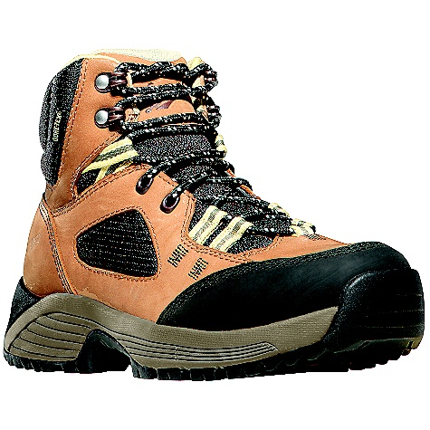 Camp and Hike Free Shipping. Danner Women's Cloud Cap Boot DECENT FEATURES of the Danner Women's Cloud Cap Boot 100% waterproof and breathable GORE-TEX(R) liner Nubuck leather and breathable nylon upper EVA dual density platform Abrasion resistant toe for protection in high wear areas Synergy heel system optimizes responsive fit by locking the heel into the pocket and allows for a lower volume fit Danner Trailguard outsole features unique acceleration and braking zones combined with traditional lug patterns in the center of the foot for superior traction on varied surfaces Co-Molded ESS plate for underfoot protection and stability The SPECS 6in. height 34 oz - $144.95