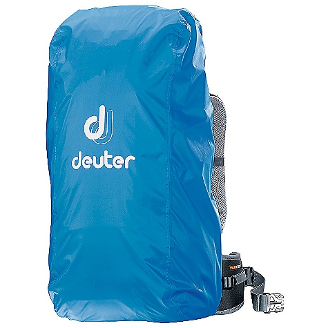 Deuter Rain Cover II SPECIFICATIONS of the Deuter Rain Cover II Volume: 2140-3050 cubic inches / 30-50 liter Weight: 3 oz / 0.09 kg Dimension: (H x W x D): 27 x 12 x 11in. / 69 x 30 x 27 cm Taffeta-Nylon - $30.00