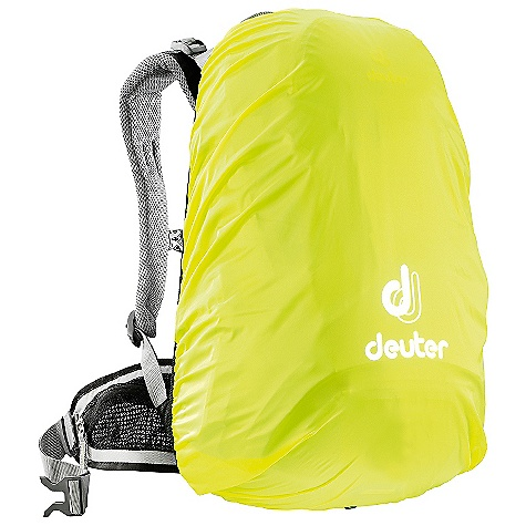 Deuter Rain Cover I DECENT FEATURES of the Deuter Rain Cover I PU Coating and Taped Seams Ensure Rain Protection High-visibility Color for Additional Safety The SPECS Volume: 1220-2140 cubic inches / 20-35 liter Weight: 3 oz / .085 kg Dimension: (H x W x D): 24 x 12 x 10in. / 60 x 30 x 26 cm Material: Taffeta-Nylon - $25.00