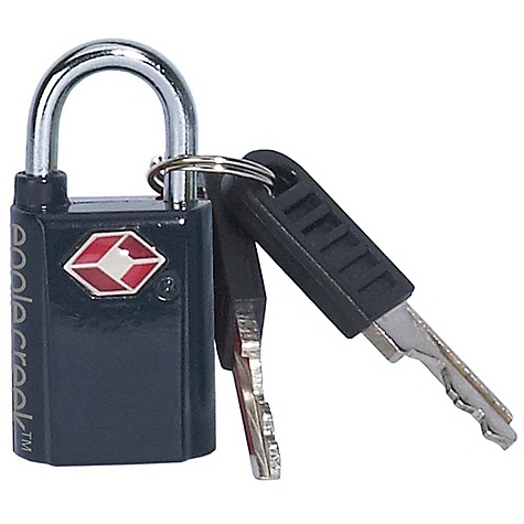 Entertainment Eagle Creek Mini Keylock DECENT FEATURES of the Eagle Creek Mini Keylock Travel Sentry Certified Set of two keys included The SPECS Weight: 1 oz / 30 g Dimension: 0.8 x 1.6 x 0.4in. / 2 x 4 x 1.4 cm Zinc Alloy Body Steel Shackle - $4.50