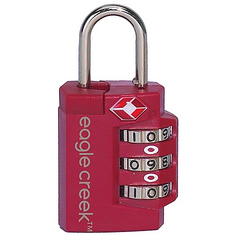 Entertainment Eagle Creek TSA Superlight Lock DECENT FEATURES of the Eagle Creek TSA Superlight Lock Travel Sentry Certified Super light weight three-dial combination lock The SPECS Weight: 1 oz / 30 g Dimension: 2.25 x 1.2in. / 6 x 3 cm ABS Plastic Housing Zinc Alloy Dial and Shackle - $8.95