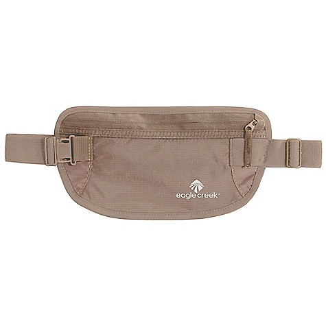 Entertainment Eagle Creek Undercover Money Belt FEATURES of the Eagle Creek Undercover Money Belt Zippered pocket for organization of Passport and currency Durable and lightweight nylon ripstop Moisture-wicking and breathable mesh back panel Slip pocket on back for waist strap storage Soft adjustable elastic waistband with strap keeper - $16.95