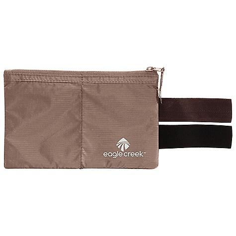 Entertainment Features of the Eagle Creek Undercover Hidden Pocket Slips onto your belt and tucks into the waistband of your pants Belt loops in black and coffee to blend with belt color Main pocket with two mesh pockets for organization of Passport and currency Durable and lightweight nylon ripstop Moisture-wicking and breathable mesh back panel - $13.95