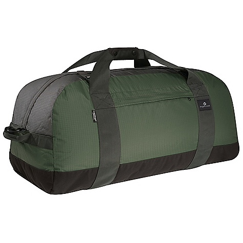 Entertainment On Sale. Free Shipping. Eagle Creek No Matter What Duffel DECENT FEATURES of the Eagle Creek No Matter What Duffel #10 lockable, self-repairing zippers with storm flap Top external compression straps secure and stabilize the load Removable padded shoulder strap adjusts for comfortable carry Non-slip top carry handle and super durable oversized webbing straps for an easy hand carry End and center haul handles Front exterior zippered pocket for quick access items Back slip panel allows for stacking on wheeled luggage (small and medium only) Reusable in.stuffin. pouch stores this duffel bag and works as an internal packing accessory for shoes or gear Bartack reinforcements on all stress points The SPECS 420D Helix Dual Ripstop 420D Helix Double Box 900D Astra SPECS for Small Capacity: 1850 cubic inches / 30.3 liter Weight: 1 lb 6 oz / 0.62 kg Dimension: 18 x 12 x 11in. / 46 x 30 x 28 cm SPECS for Medium Capacity: 3600 cubic inches / 59 liter Weight: 1 lb 12 oz / 0.79 kg Dimension: 24 x 12 x 11in. / 61 x 30 x 28 cm SPECS for Large Capacity: 6700 cubic inches / 110 liter Weight: 2 lbs 4 oz / 1.02 kg Dimension: 30 x 15 x 14in. / 76 x 38 x 36 cm SPECS for Extra Large Capacity: 8100 cubic inches / 133 liter Weight: 2 lbs 9 oz / 1.16 kg Dimension: 36 x 15 x 14in. / 91 x 38 x 36 cm - $41.99